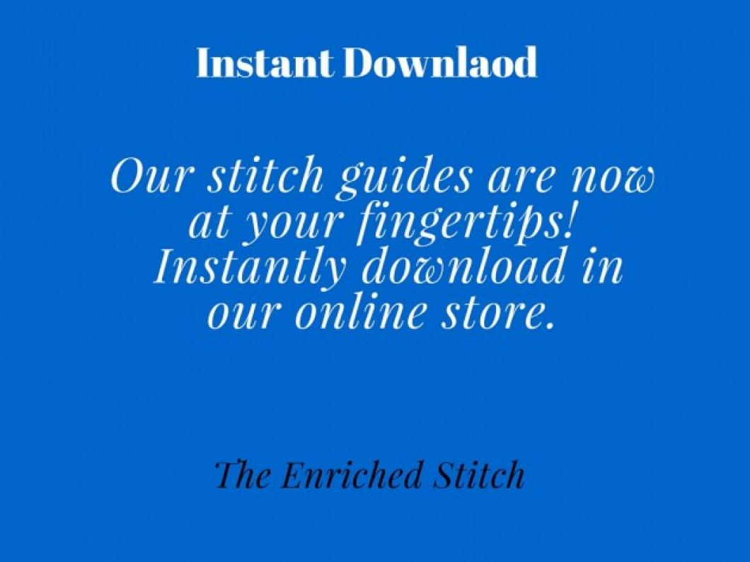 Download Our Stitch Guides Instantly!