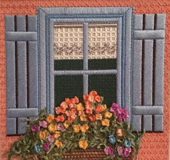 Blue Window Box