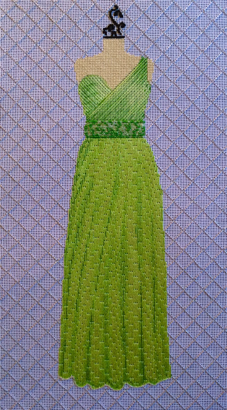 Green Gown by The Meredith Collection