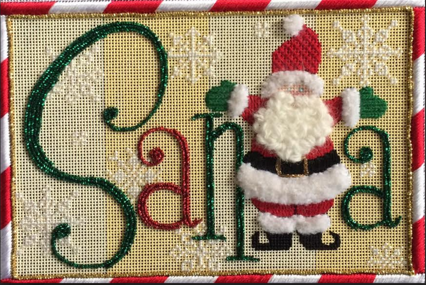 Santa Sign by Raymond Crawford