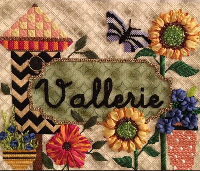 Vallerie Name Sign