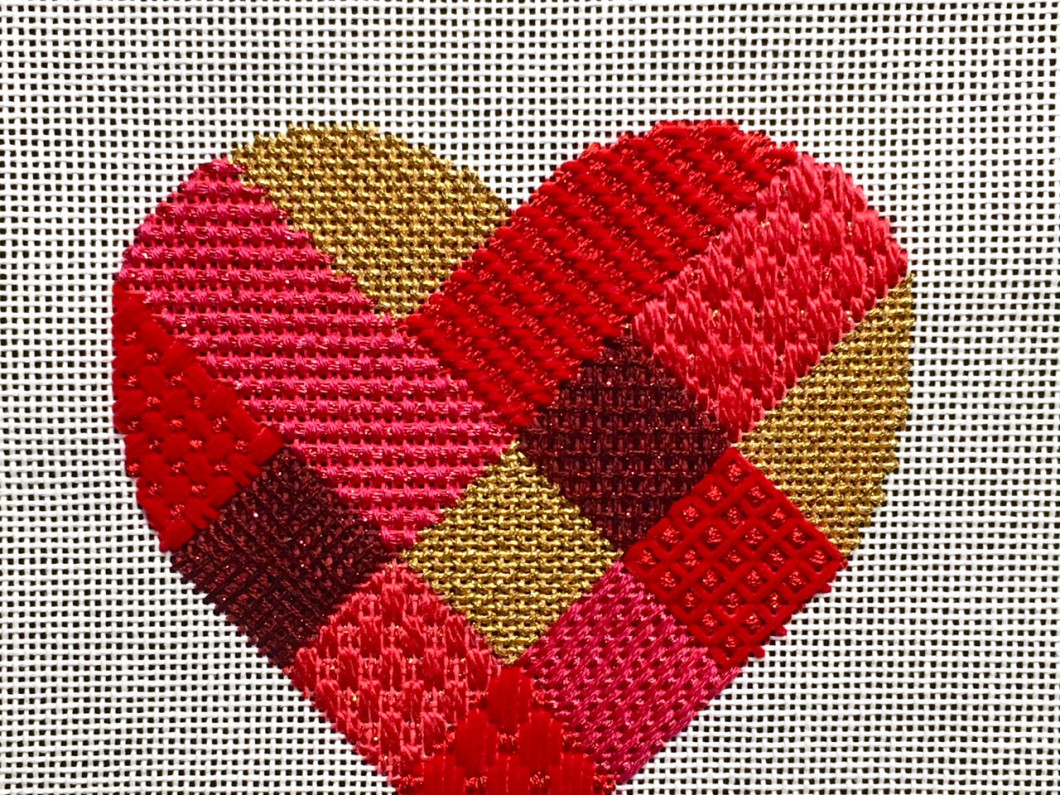 Go Red with Thread Stitch In