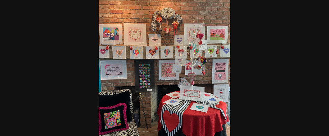 Love is in the air at The Enriched Stitch!