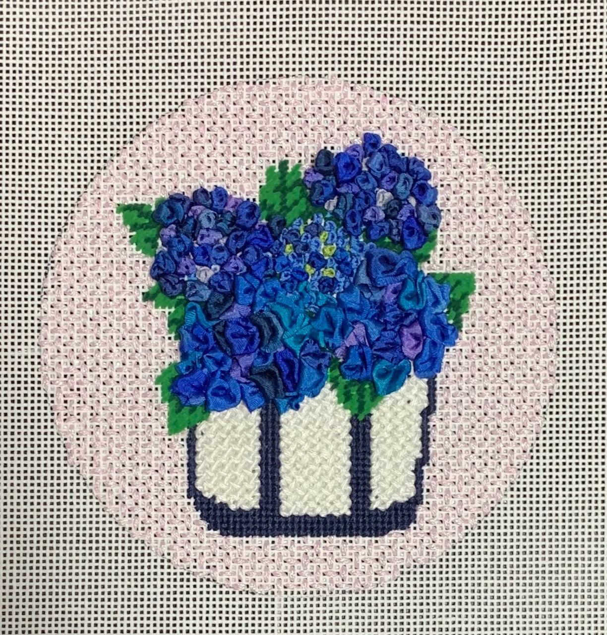 Tote Bag with Hydrangeas Zoom Class